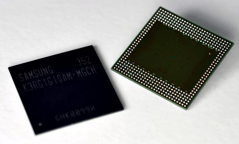 Samsung-LPDDR4-RAM