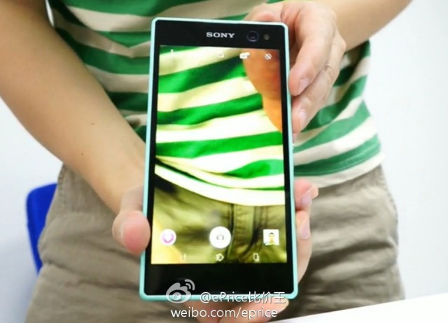 Upcoming-selfie-centric-Sony-phone
